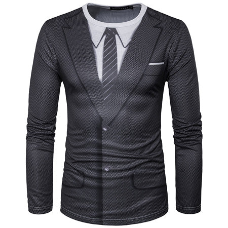 3D Suit T-Shirt - Bargainsfan