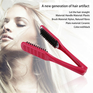 Double Sided Hair Straightening Comb - Bargainsfan