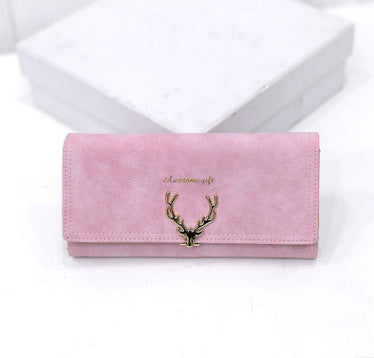 Deer Long Wallet - Bargainsfan