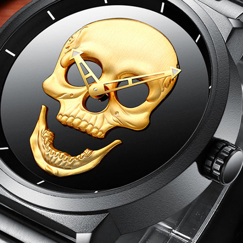 Skull Watch - Bargainsfan