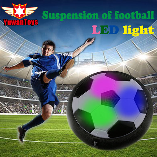 Air Power Soccer Disc - Hover Ball - with LED lights! - Bargainsfan