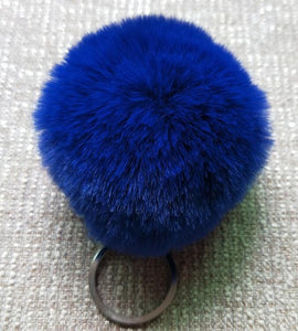 Fluffy Charming Women's Pompom Chain Keyholder - Bargainsfan