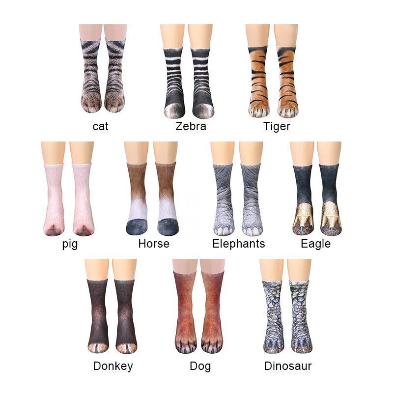 Animal Paw Socks - Bargainsfan