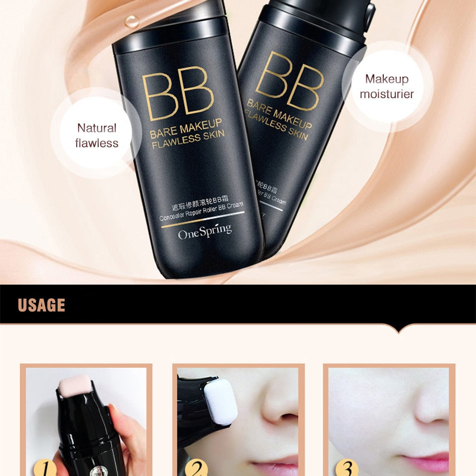3-IN-1 Roller Concealer & Foundation Maximum Coverage - Bargainsfan