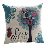 Cute Owl Pattern Pillowcase - Bargainsfan