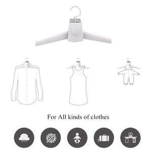 2 in 1 Electric Breeze Clothes Drying Hanger - Bargainsfan