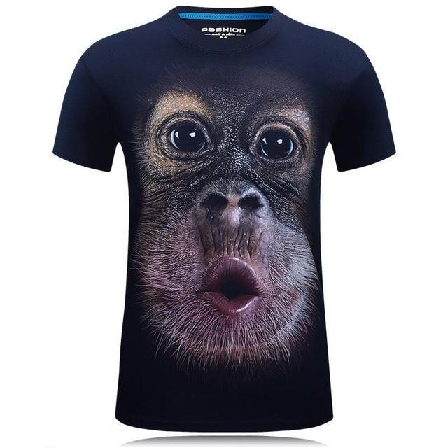 Funny Monkey T-Shirt - Bargainsfan