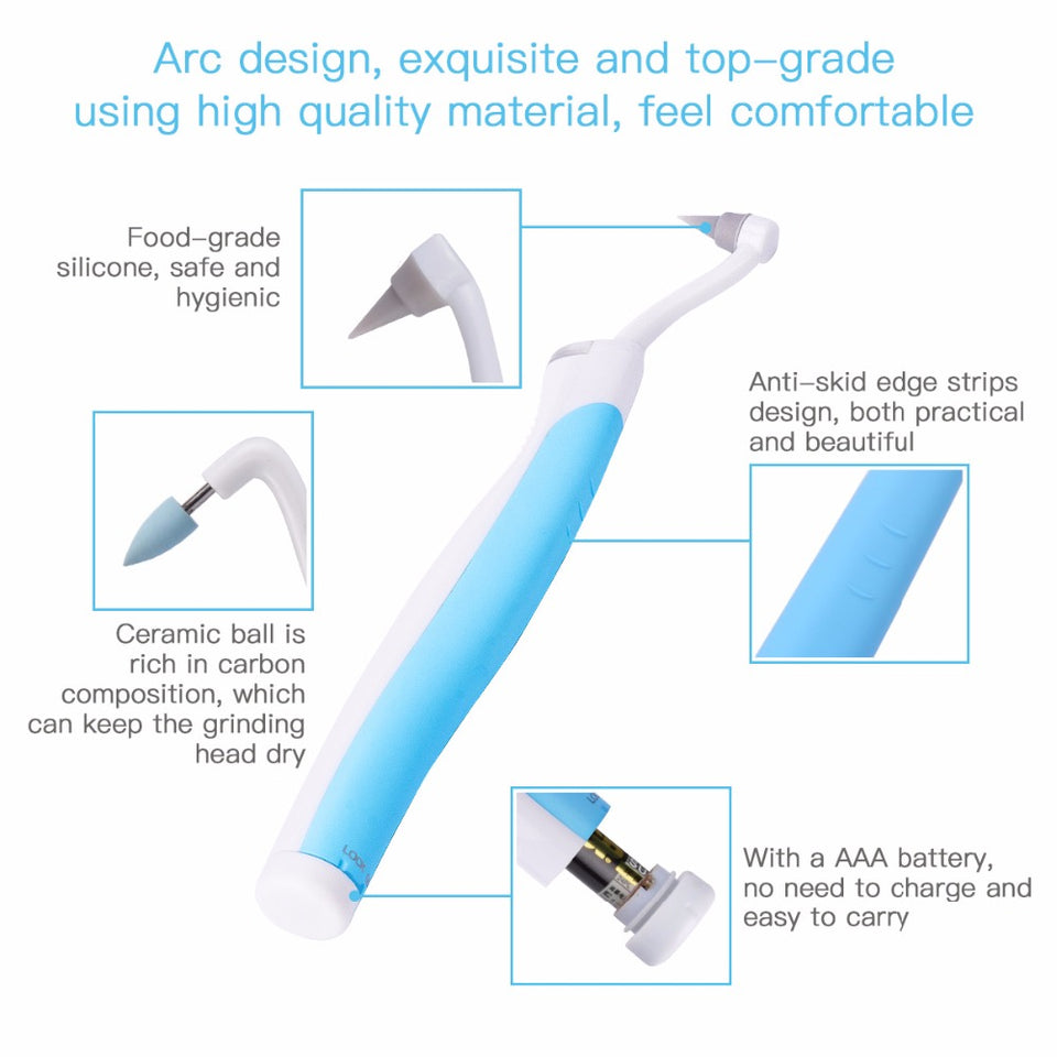 Sonic Vibration Dental Cleaner - Bargainsfan