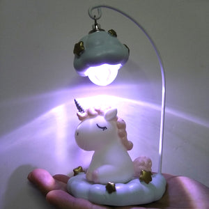 Unicorn Twinkle Night Light - Bargainsfan