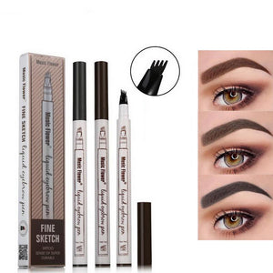 FLAWLESS Long Lasting Precise Microblading Eyebrow Tattoo Pen - Bargainsfan