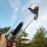 Healing Natural Quartz Water Bottle - Bargainsfan