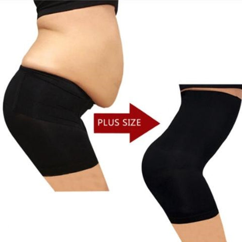 High Waist Tummy Tuck Waist Shaping Panty - Bargainsfan
