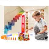 Domino Train Toy Set - Bargainsfan