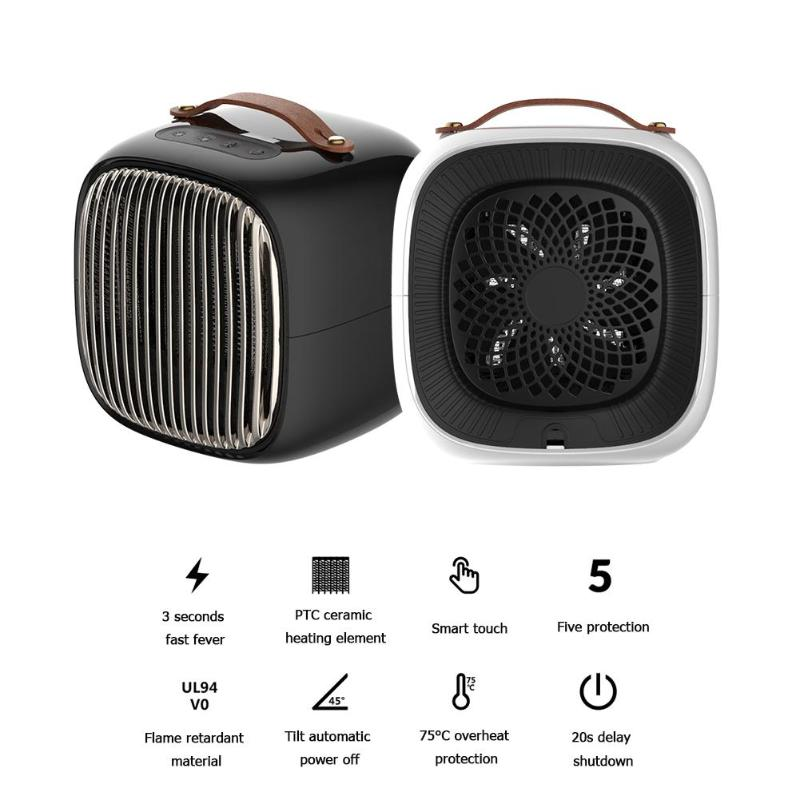 Smart PTC Ceramic Personal Heater - Bargainsfan