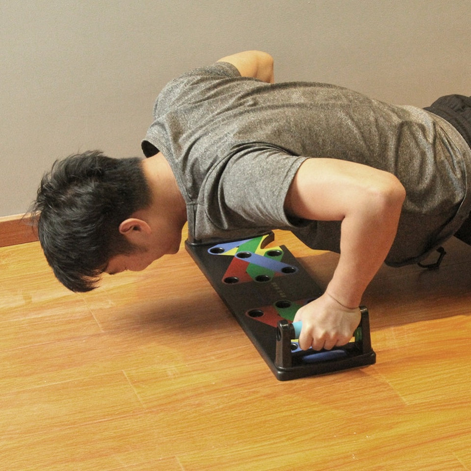 PUSH UP BOARD 9 IN 1 SYSTEM - Bargainsfan