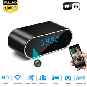 1080P Wireless Alarm Clock Security Spy Camera - Bargainsfan