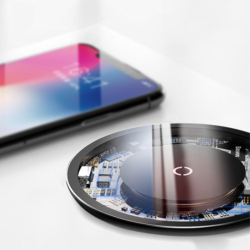 Qi Wireless Charging Pad for iPhone & Samsung - Bargainsfan