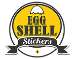 Eggshell Stickers