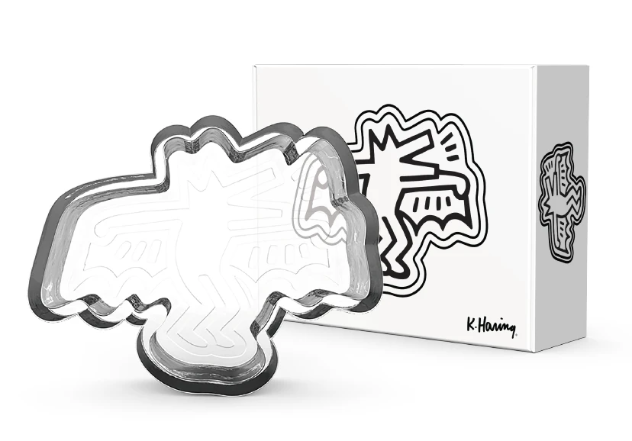 K. Haring Dog Bat Catchall