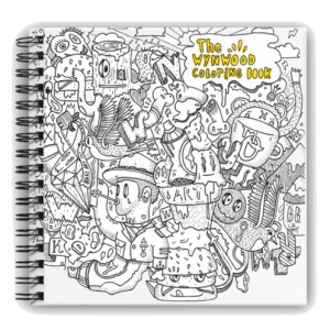 The Wynwood Coloring Book First Edition