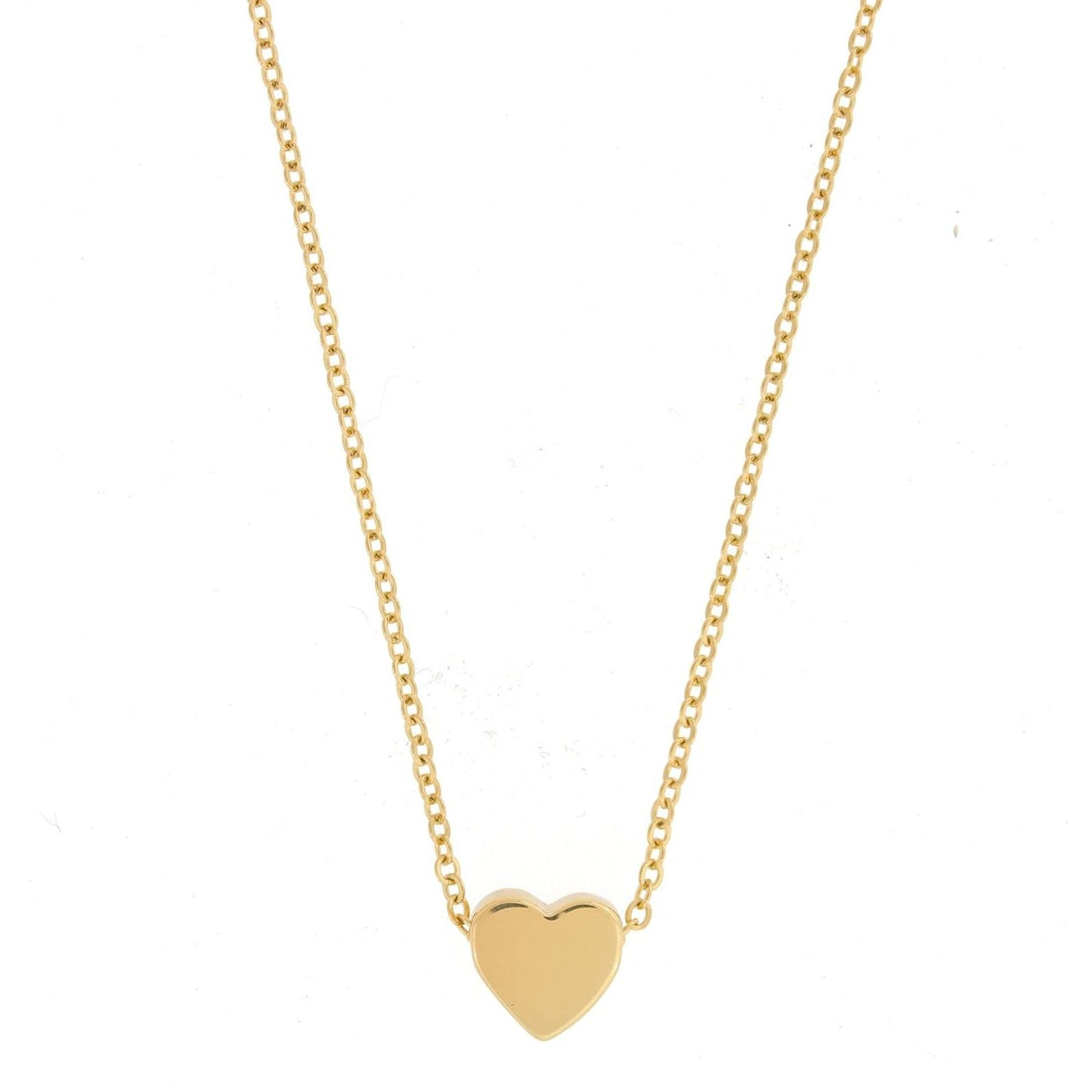 Mini Heart Necklace 18k Gold Plated