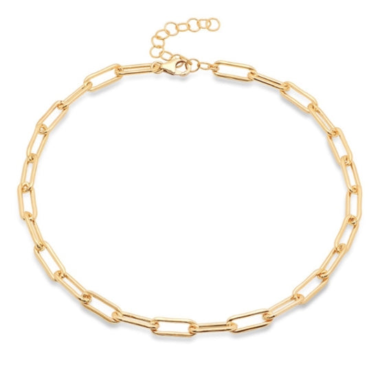 Link Necklace 18K Gold Plated