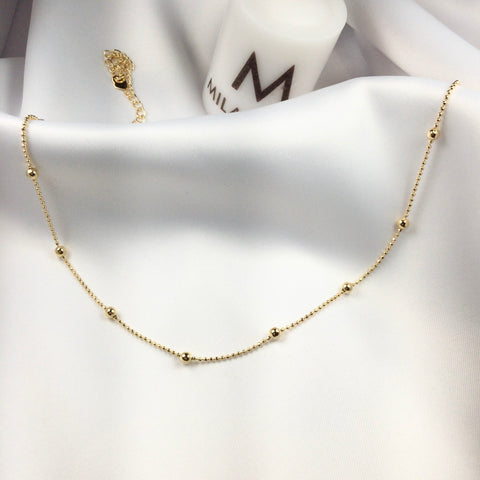 Choker Sphere 18K Gold Plated