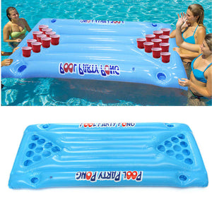Beer Pong Pool Float Toy