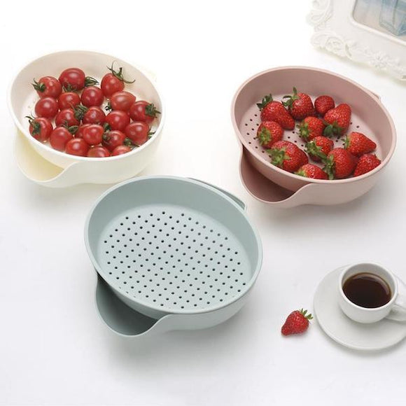 2-in-1 Colander & Bowl Set