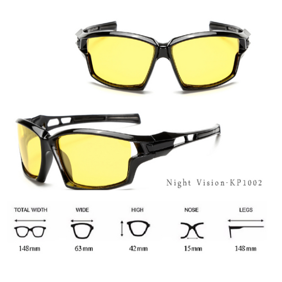 Anti Glare Night Polarized Glasses for Men