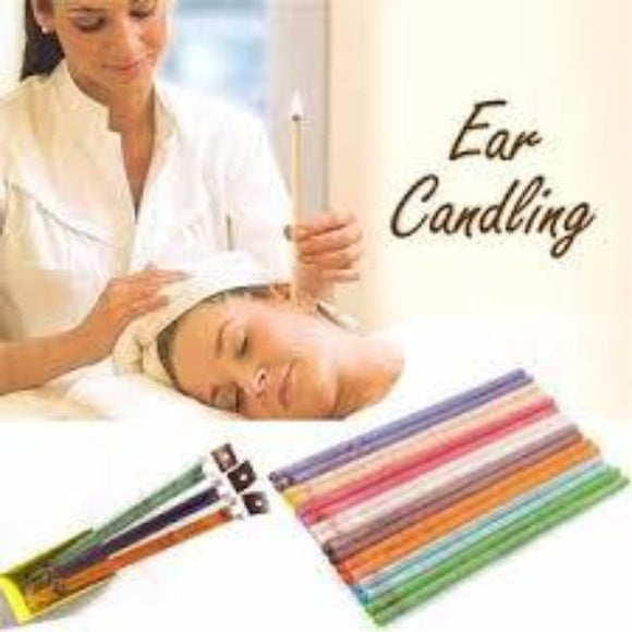 Ear Candle with Infused Essential Oils