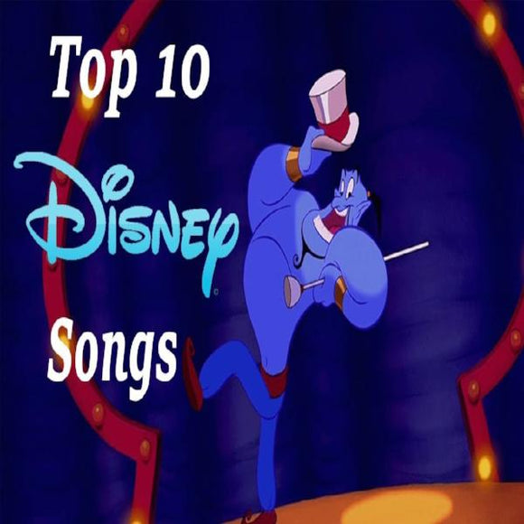 Top 10 Disney's Songs Piano Music Sheets (PDF)