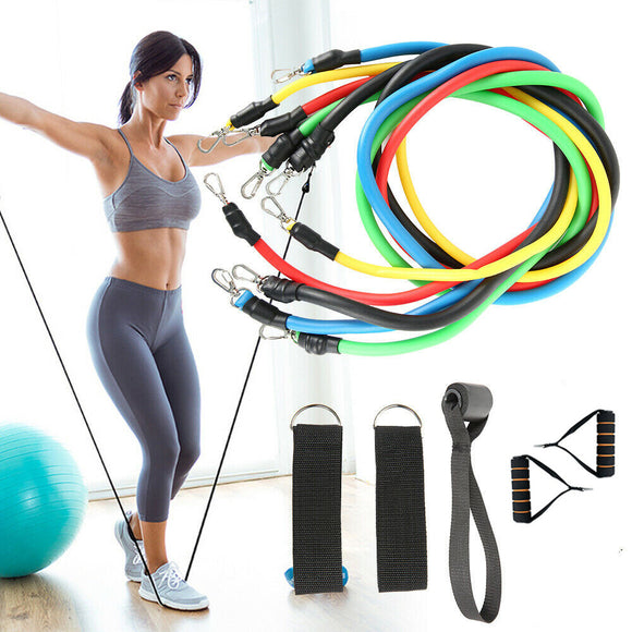 11 PCS Set Resistance Bands