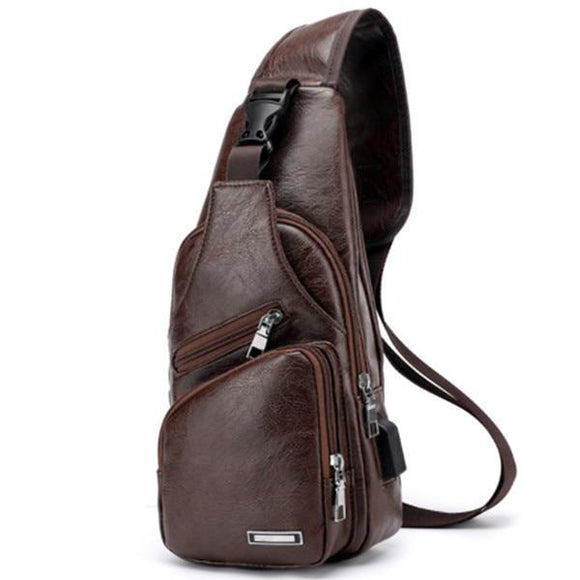 Anti-Theft Men's Chest Bag