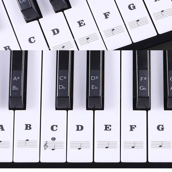 Piano Key Stickers
