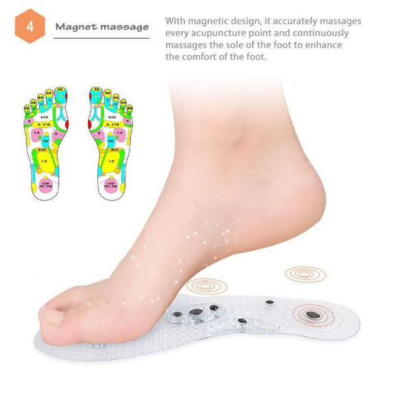 Heaven's Sole (Magnetic Acupuncture Massaging Insole)