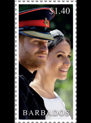 Royal Wedding 4v 19/11/18 Barbados