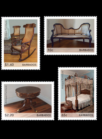 Barbados Antique Furniture 4 value set 15/3/21