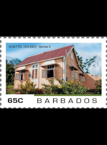Barbados Chattel House 4 value set  8/7/19