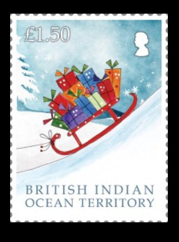 British Indian Ocean Island Territory  Christmas 2018 6 value set  21/11/18