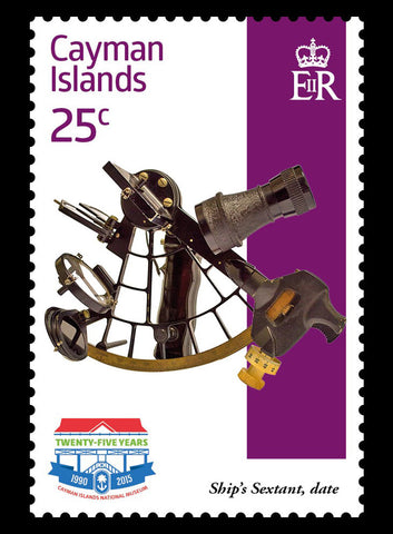 Cayman Islands National Museum Caymans 4 value set 1/1/15