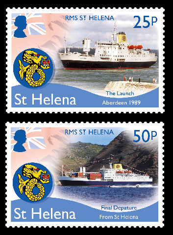 St Helena RMS St.Helena 4 value set  10/2/18