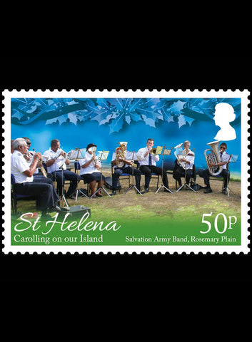 St Helena Carolling on our Island 3 value set 1/11/16
