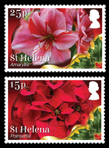 St Helena Christmas 2017 4 value set 30/9/17