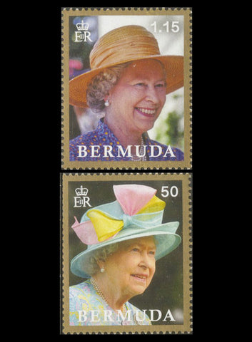 Bermuda HM Queen Elizabeth II  Longest Reign 3 value set 29/6/17