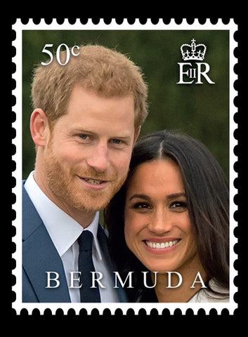 Bermuda Royal Wedding 3 value set 21/5/18