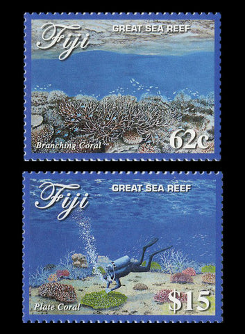 Fiji Great Sea Reef 4 Value Set