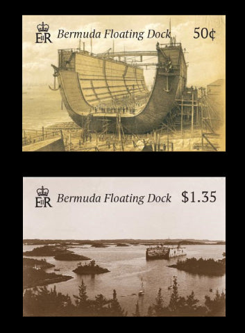 Bermuda Floating Dock 4 value set 18/7/19