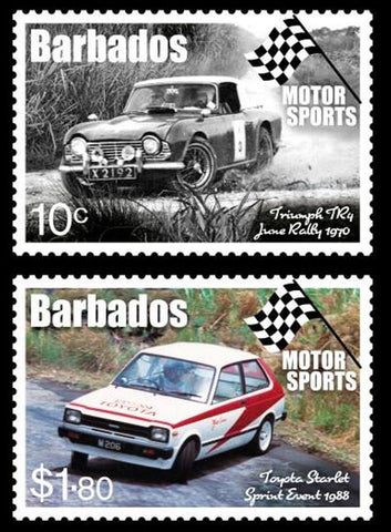 Barbados Motorsport 4 value set  12/6/17