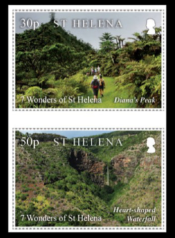 Seven Wonders of St.Helena 7 Value Set  1/2/20